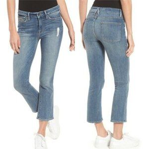 Good American Good Cuts High Rise Jean Distressed